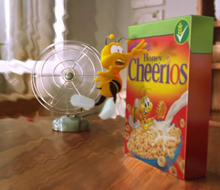 Honey Nut Cheerios 'Never Give Up'
