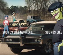 Gorillaz and Pandora 'Sounds Like Gorillaz'