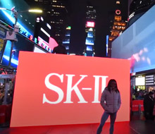 SK-II 'Times Square Takeover'